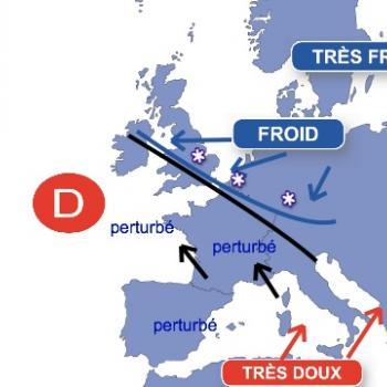 Fin mars 2013 : neige et froid exceptionnels en Europe du Nord