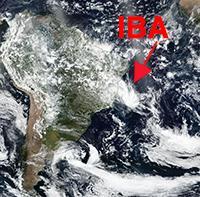 Tempête tropicale Iba : un phénomène rare en Atlantique Sud