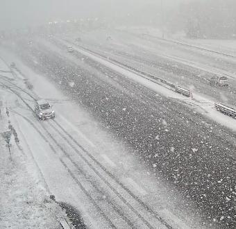 La neige fait enfin son retour dans les régions de l'Est