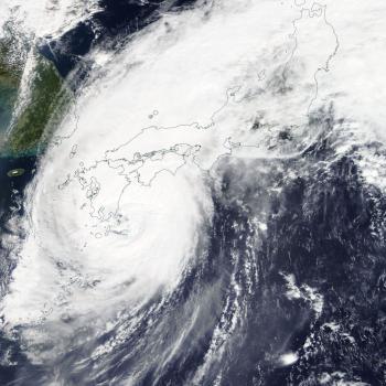Typhon Trami : le Japon à nouveau touché
