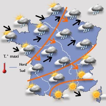 Prévisions météo à 15 jours pour nantes et la loire atlantique
